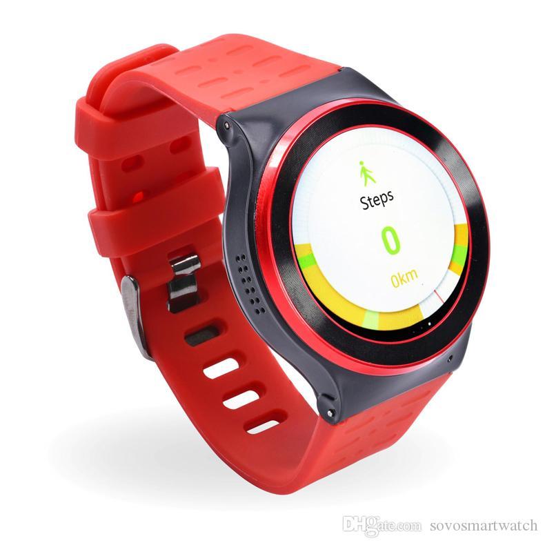 SF13 Android 5.1 Smartwatches GT88 KW88 QuadCore 1.3G MTK6580 512 MB + 8 GB 3G WCDMA GPS WIFI Kamera 3.0 Kalp Monitörü