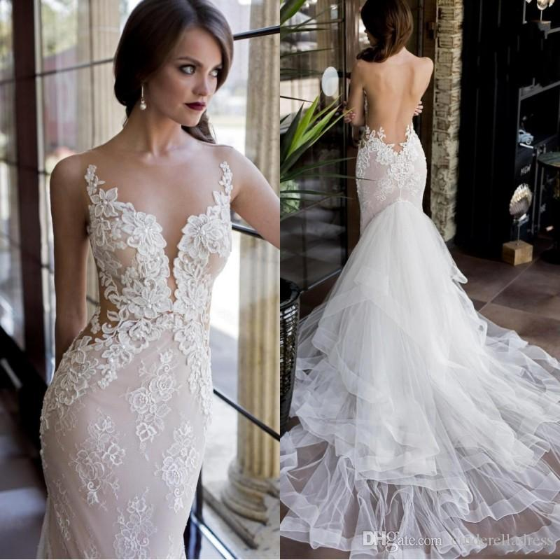 2018 Vintage Lace Wedding Dresses With Detachable Skirt Mermaid ...