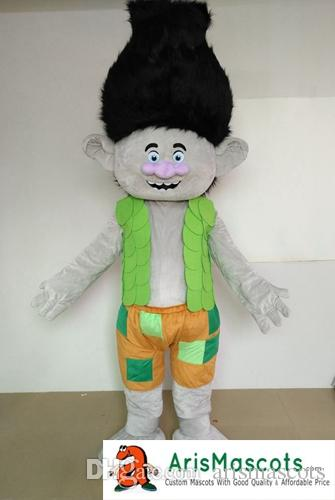 Hot Sale Adult Size Trolls character Branch mascot costume for birthday party cartoon Mascot Outfits for & Hot Sale Adult Size Trolls Character Branch Mascot Costume For ...