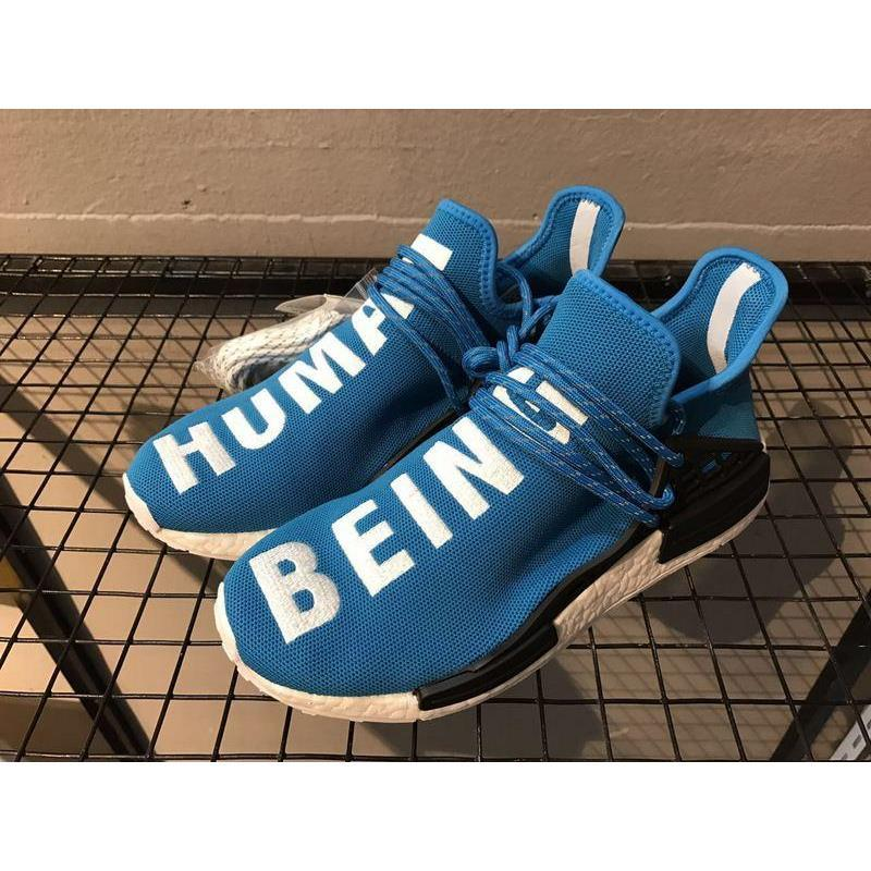 730475bc1832d 2019 Human Race BB0618 Laces Can Reflect Light Blue For Men Outdoor Shoes  Athletic Sports Sneakers Ship With Original Box From Amigo239
