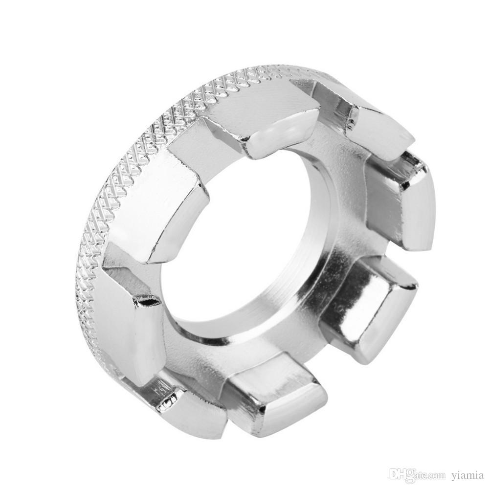 New Bicycle Bike 8 Way Spoke Nipple Key Wheel Rim Wrench Spanner Repair Tool Bicycle accessory