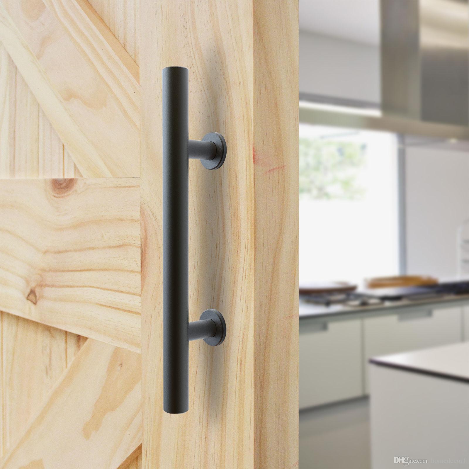 Black Steel Barn Door Handle Sliding Wood Door Handle Barn