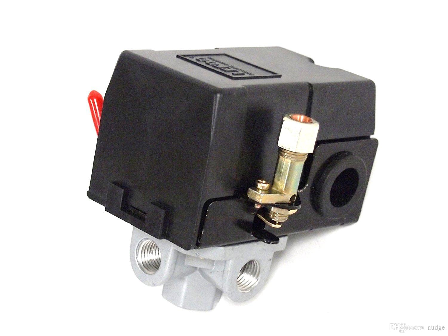 2019 Air Compressor Pressure Switch Control Valve 95 125 Psi 4 Port For Diagram W Unloader From Nudge 1122