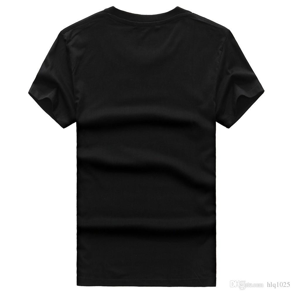 Toptan Erkek Yaz Kısa T-Shirt Mavi Floresan Rahat Aydınlık T-Shirt Erkekler Tshirt Erkek Spor ücretsiz nakliye Tops