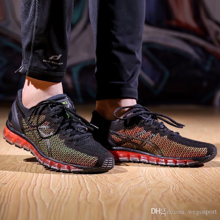 11938e246da8 2019 2019 Asics GEL QUANTUM 360 CM Buffer Running Shoes For Men Black Blue  Designer Sneakers Sports Shoes Walking Boots Size 40 45 From Wegosport