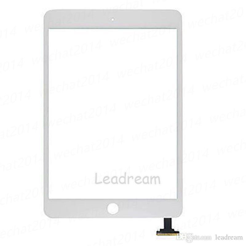 50шт сенсорный экран стеклянная панель с дигитайзером для iPad Mini 3 Mini3 черный и белый бесплатно DHL