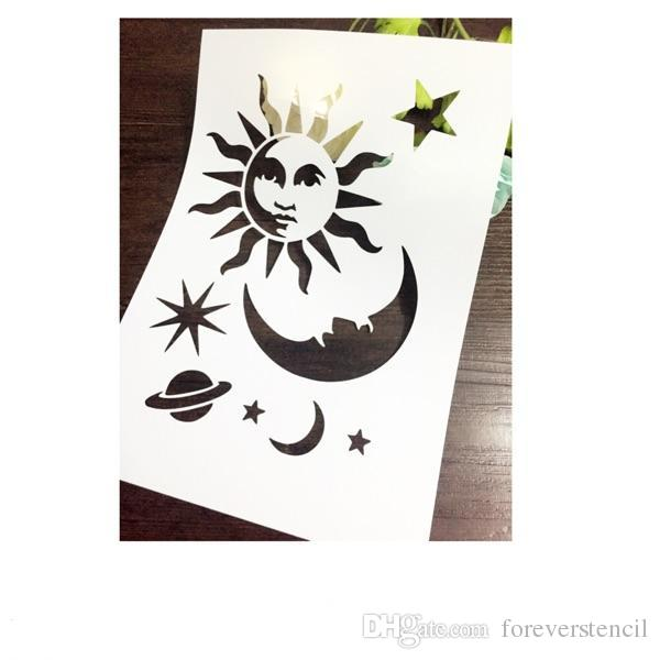 2020 Drawing Stencil For Kids Wholesale Laser Cut Stencils