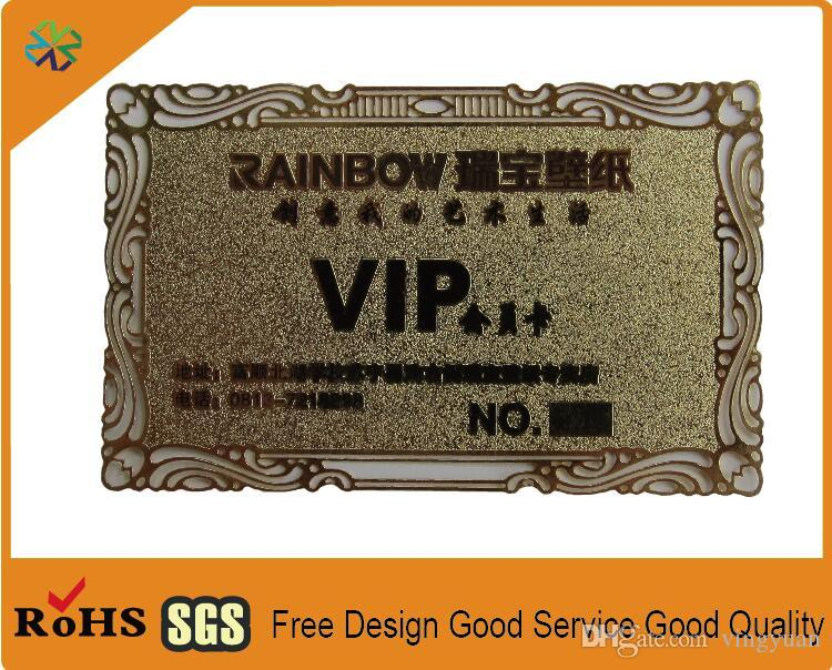 2018 gold color china manufacturer high quality laser cut gold metal 2018 gold color china manufacturer high quality laser cut gold metal business cards metal name card metal visiting card printing from vingyuan colourmoves