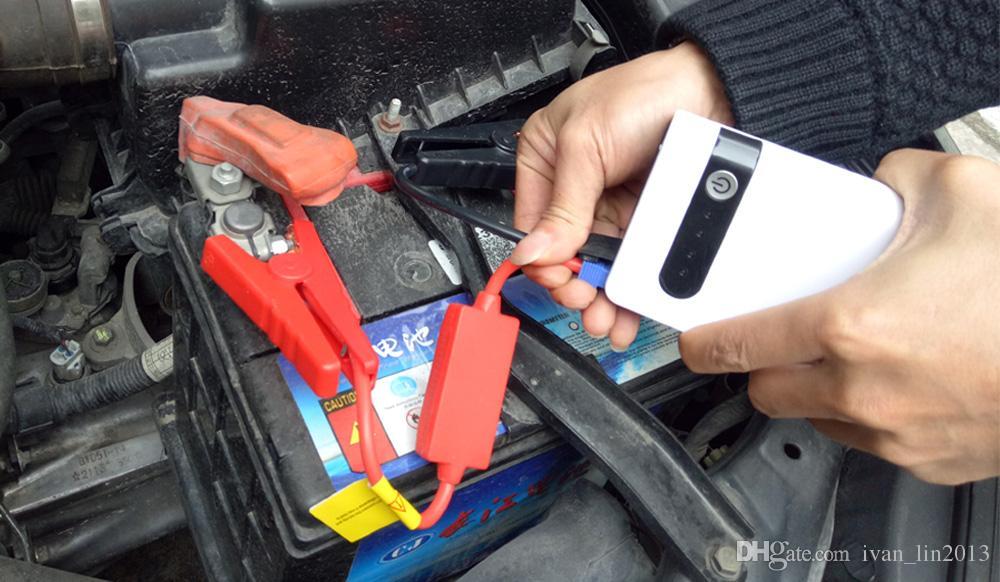 자동차 배터리 부스터 버스터 디젤 가솔린 휴대용 전원 은행에 대 한 10000mAh 12V 미니 자동차 점프 스타터 비상 시작 Devicer 차량용 충전기
