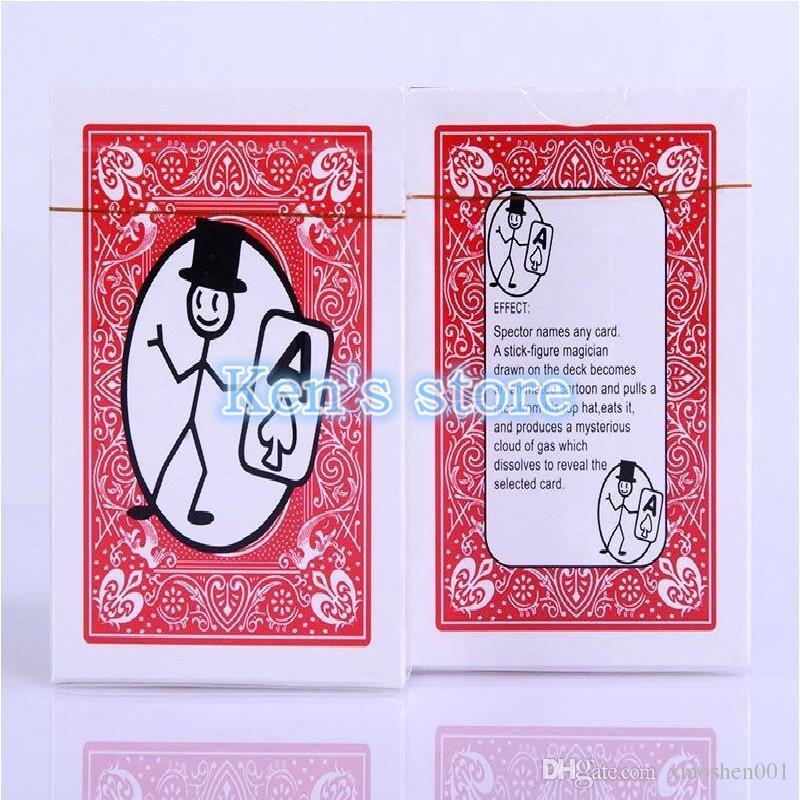 Envío Gratis Tarjeta de Toon de dibujos animados Magic Cards Magia Deck Pack Tarjeta de Natación Trucos de Magia Close Up Street Magic Tricks Puzzle Juguetes de Regalo