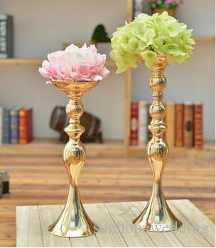 Yeni dekor tasarım çiçek topu düğün metal boyunda masa centerpieces