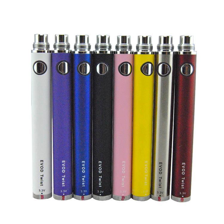 EVOD büküm pil değişken gerilim görme 510 pil uygun PROTANK MT3 CE3 CE4 e sigara benlik atomizör buharlaştırıcı kuru ot vape kalem
