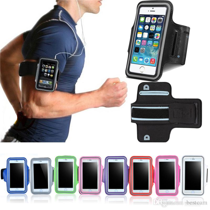 check out dd77d 57f9a For iPhone7 6s WaterProof Sport Gym Running Armband Case Cover Bag Pouch  For Mobile Phone 7 6 Plus 7Plus
