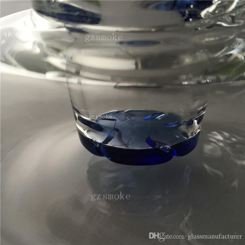 Dab rig vortex bong acqua tornado tubi di vetro tubo inebriante bongs quarzo banger piattaforme petrolifere disco perc bubbler cera 30 cm 12 pollici narghilè chiodo