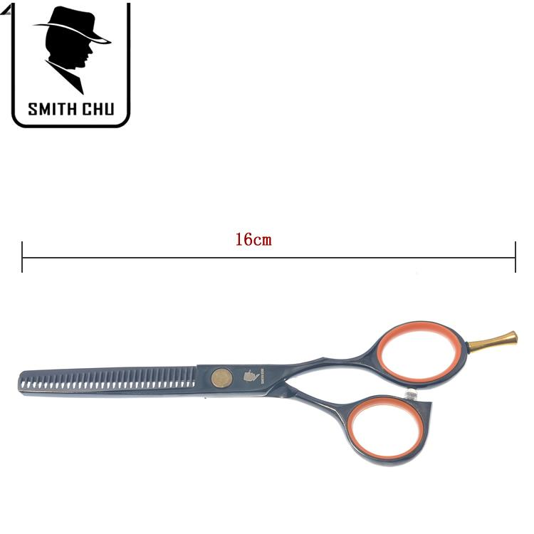 5.5Inch SMITH CHU Hot Sell Barber Scissors Hairdressing Set Professional Hair Cutting & Thinning Scissors Barber Shears + Case, LZS0061