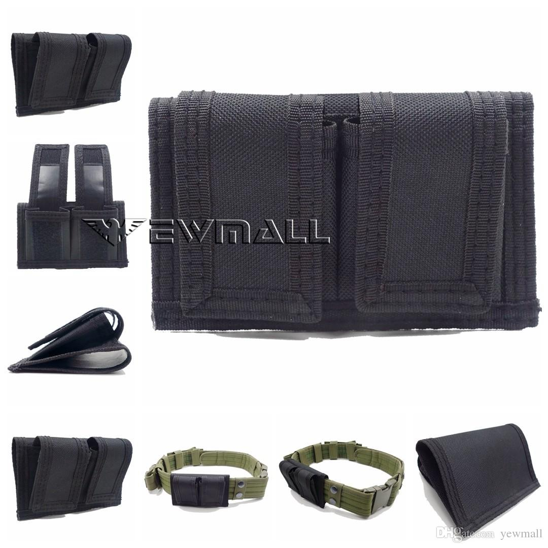Outdoor Sport Hunting Double Speedloader Belt Pouch Fit 22 Mag thru 44 Mag Pouch