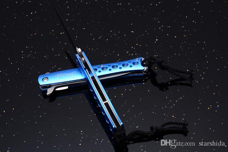 Y Stern Kleine Taschenmesser 5Cr13 57HRC Aluminium Griff Outdoor Taktische Camping Jagd Überlebensmesser Rettung EDC Werkzeuge Sammlung