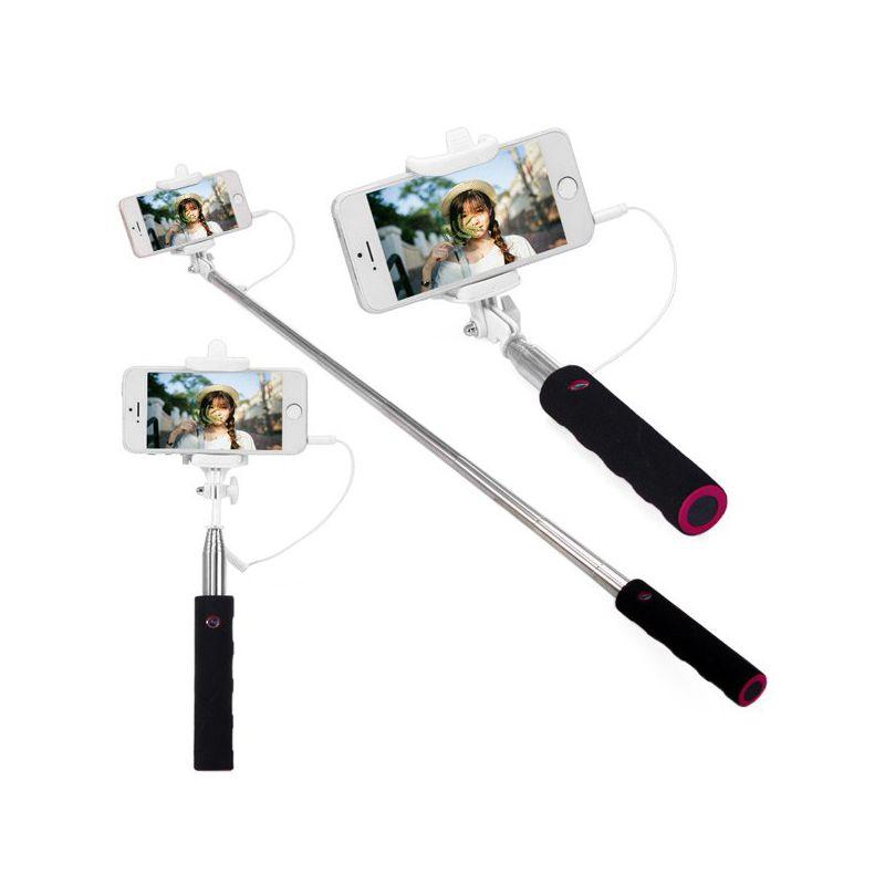 selfie stick hook up