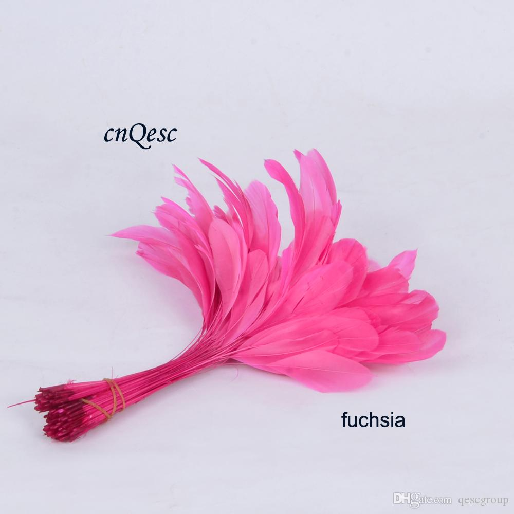 NEW 14-19cm cocktail feather for fascinator/sinamay hat/party mask/wedding hat,15 COLOURS