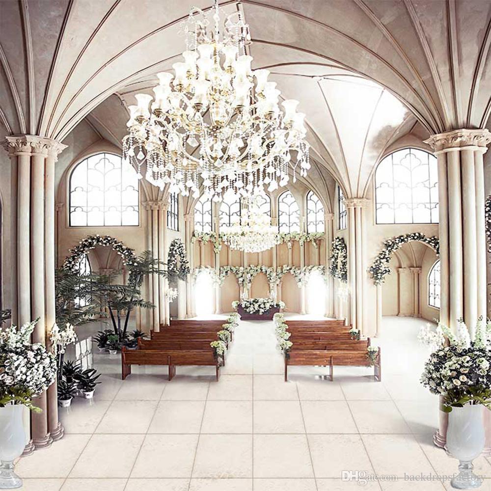 Grosshandel Vinyl Tuch Hochzeit Fotografie Kulissen Kirche