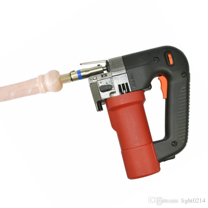 Sex Machine with Dildos Toy Automatic Retractable Pumping Thrusting Adjustable Sex Toys Small Hand Held Electric Drill for Women E5-1-39