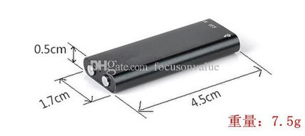 Global ultra small mini HD recording pen U disk recording Dictaphone 8GB Digital Audio Voice Recorder 13 Hours with Mp3 player