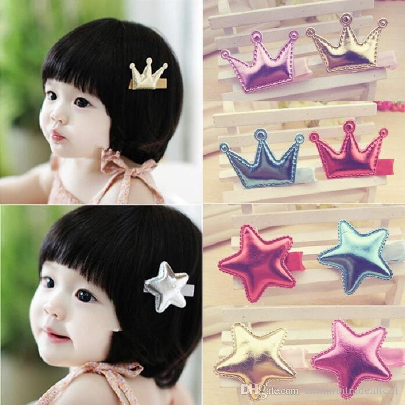 hair barrettes hairpins hairgrips clip for Women girl Hair Accessories headwear holder bun bang cute star crown sweet
