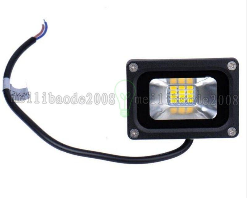 10W Luz de inundación LED Reflector impermeable Paisaje Iluminación LED para exteriores Lámpara de césped Blanco cálido Frío blanco IP65 ENVÍO GRATIS MYY