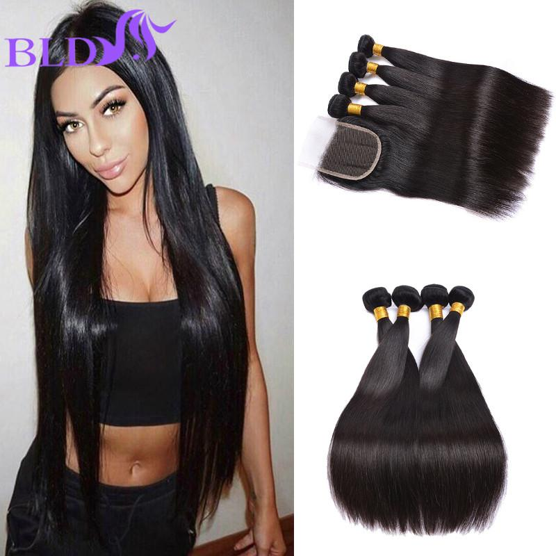 2017 brazilian straight human hair weaves extensions 4 bundles 2017 brazilian straight human hair weaves extensions 4 bundles with closure free middle 3 part with bundles hair double weft from annina 5102 dhgate pmusecretfo Gallery