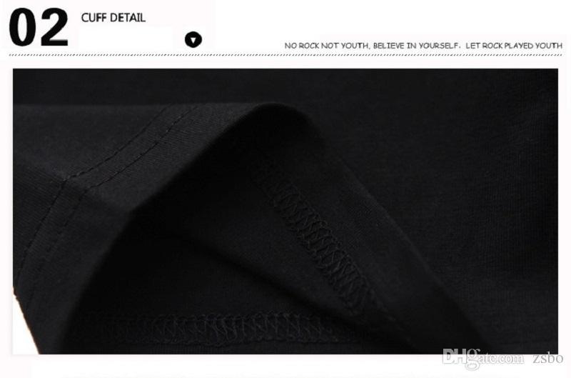Dia das bruxas Moda streetwear Chucky dos homens 3d Engraçado t-shirt preta roupas de manga curta t camisa o pescoço solto fit Tops tshirt dos homens BMTX29 F