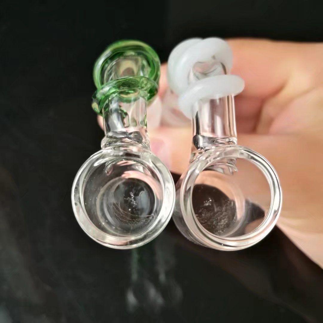 Disco de color Seda Aceite de vidrio Tubería del quemador de aceite Cabeza de la burbuja de vidrio Tubo del quemador de aceite de vidrio Tubos de vidrio Aceites Quemador de aceite de las uñas Tubo grueso Colorido tubo