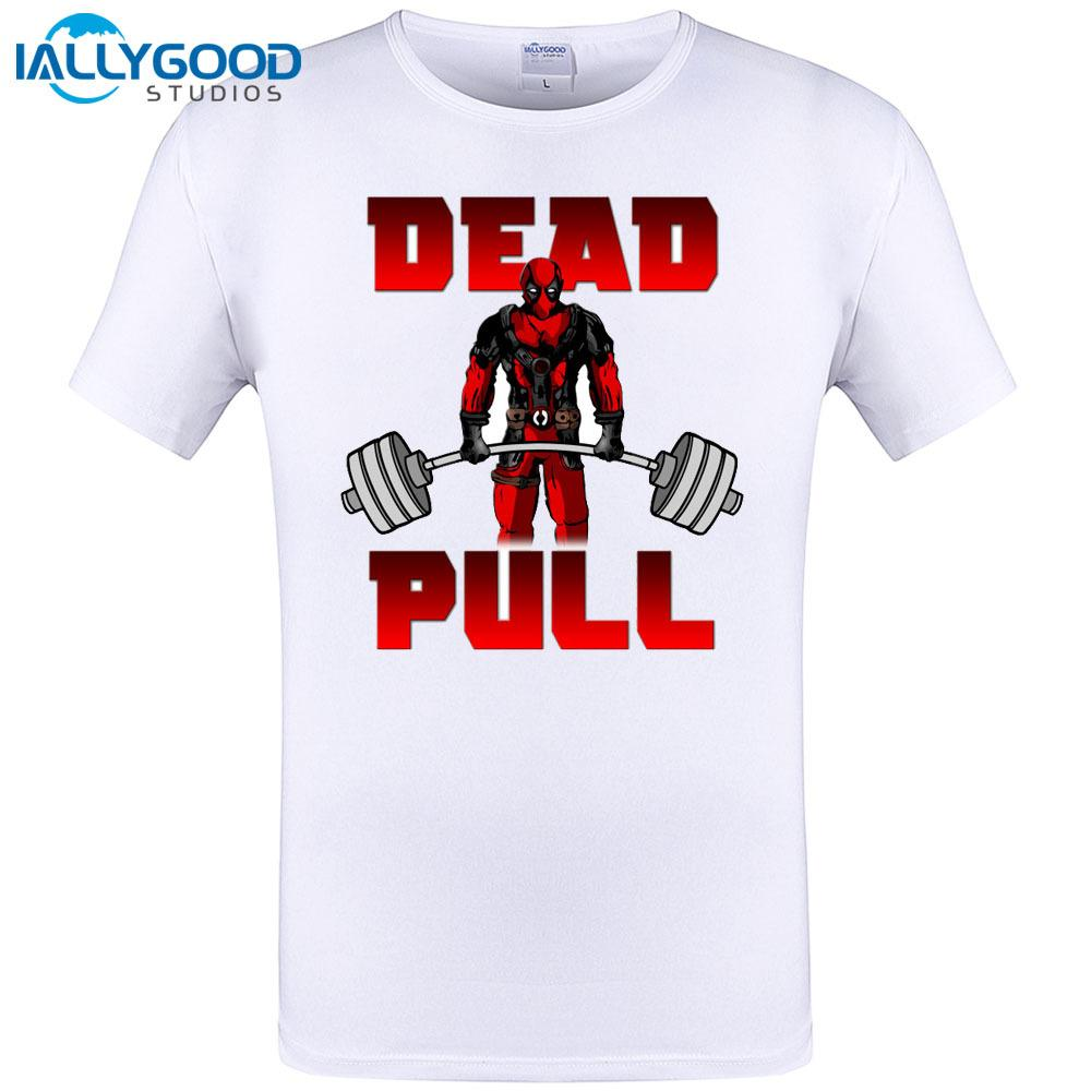 Unisex Clothing, Shoes & Accs Deadlift Parody Deadpool T Shirt T-Shirts