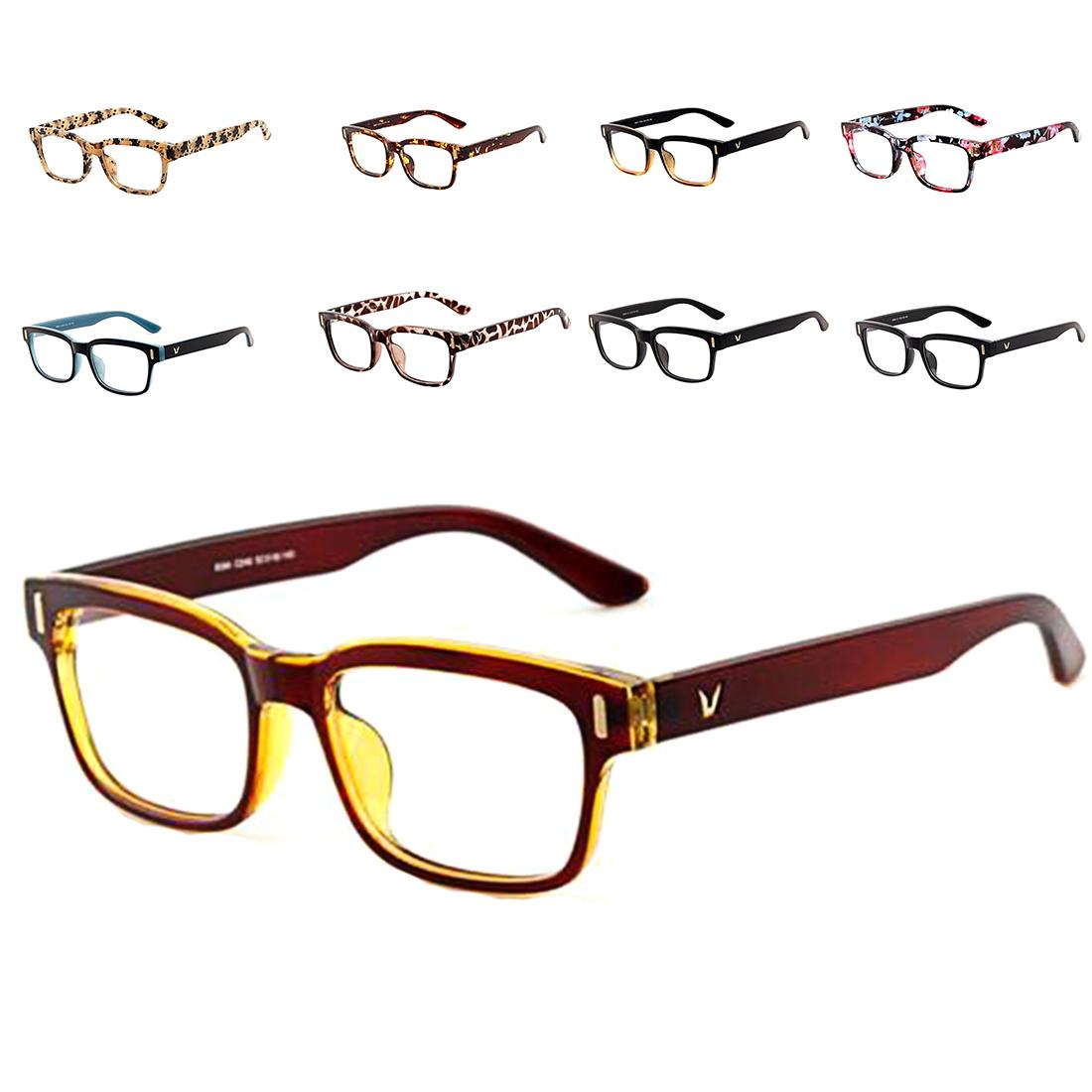 cd588bac0f4 2019 Wholesale Classic V Shaped Box Eye Glasses Frames Brand For Men New  Women Computer Frames Eyewear Vintage Armacao Oculos De Grau From Jilihua