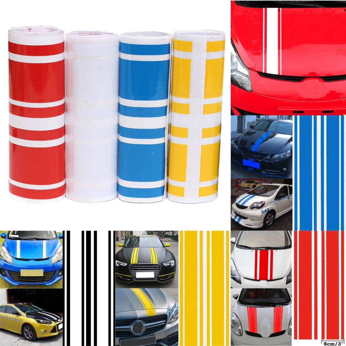 2019 wholesale 183 x 17 2cm car styling 3d car hood side vinyl stripe sticker body bumper decal engine cover pinstripe from bdauto 31 56 dhgate com