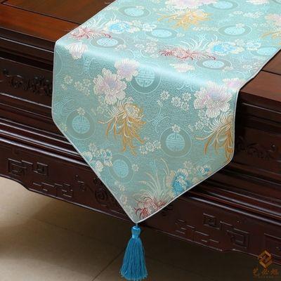 Pretty Chrysanthemum Tafel Runner Fashion Luxe Rechthoek Eettafel Doek Portction Pads High End Coffee Tafelkleden 200 x 33cm