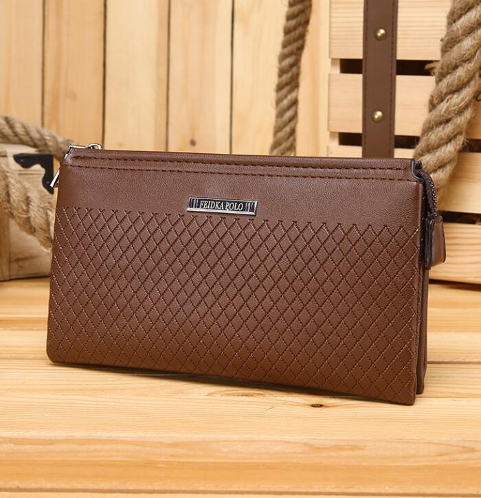 Factory Direct Sales Man Bag Fashion Leather Brand New Business Man Purse  Leisure Large Capacity Small Ling With Genuine Leather Men Wallet Girl  Wallets ... a5e47444c2544
