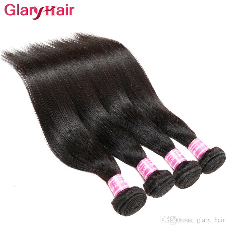 Malaysian Indian Peruvian Brazilian Virgin Hair Bundle Deals 5 Bundles Cheap Remy Straight Human Hair Extensions Unprocessed Hair Wefts