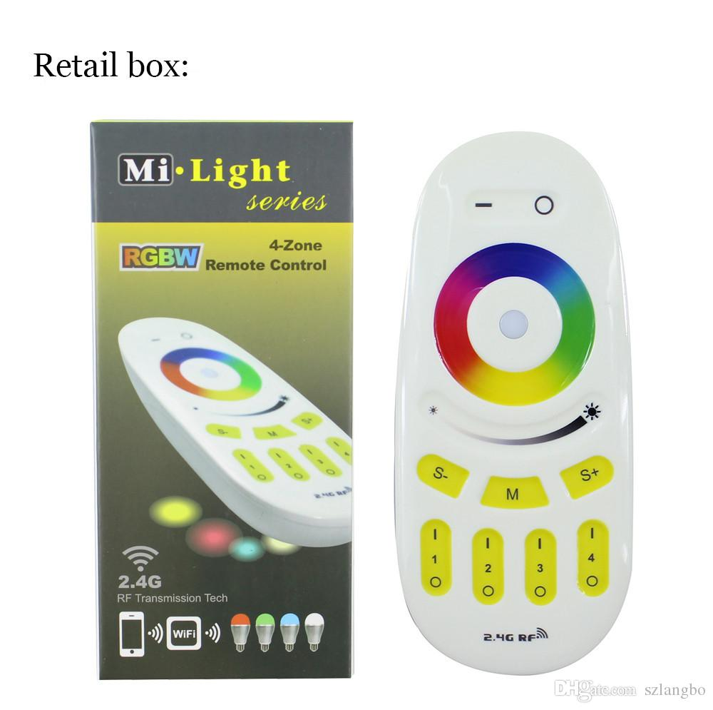Mi.light 2.4G RGBW/RGB remote control for Bulb&led strip Wireless RF Controller Touch screen controller