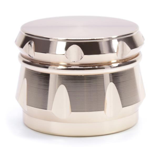 Четыре слоя сплава цинка ромбовидной фаски стороне вогнутый барабан типа точильщика диаметр 63 мм новых курильщиков