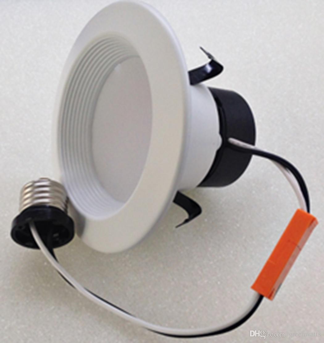 retrofit Downlight certificado UL dimmmable 4 polegadas retrofit de alumínio recesso Triac dimmable 8 W downlight LED