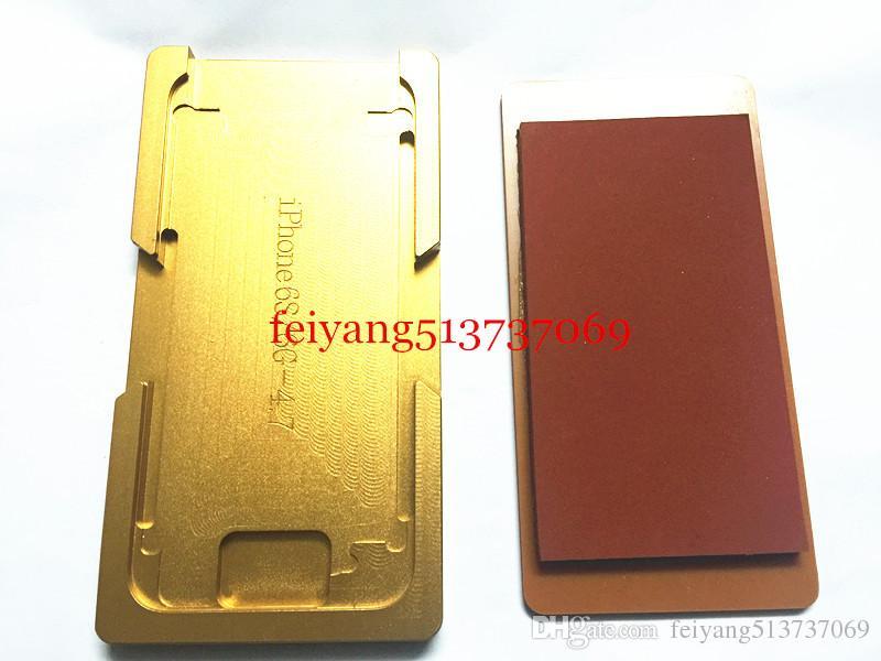 iphone 5 5s 5c 6 6s 6p 6SP 7 7p Inoltre telaio con stampo stampo di alluminio Precisione OCA laminazione macchina Strumenti riparazione