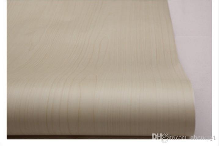 New hot sale 5m long 90 cm wide imitation wood grain self-adhesive wallpaper top quality waterproof cabinet wardrobe furniture renovation