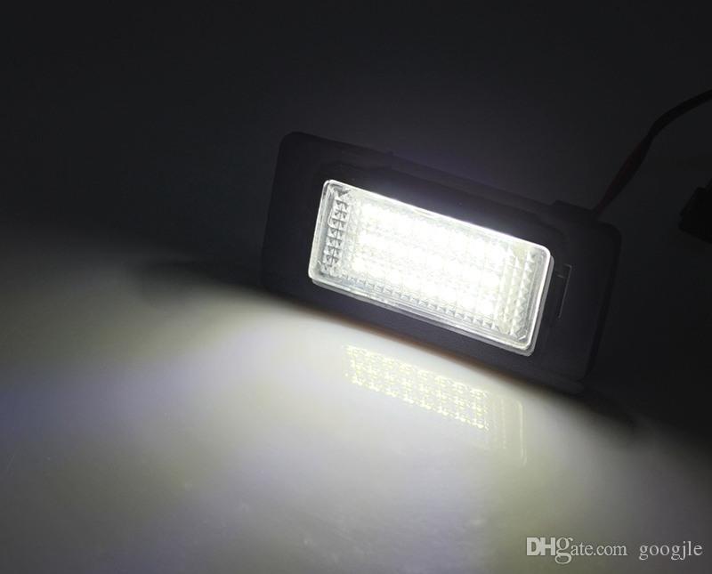 24LED Plaka lambası SKODA Octavia Combi RS 2013 için plaka lambası lambası ~ 2016 Hızlı 2012 ~ 2016 Hata ücretsiz canbus