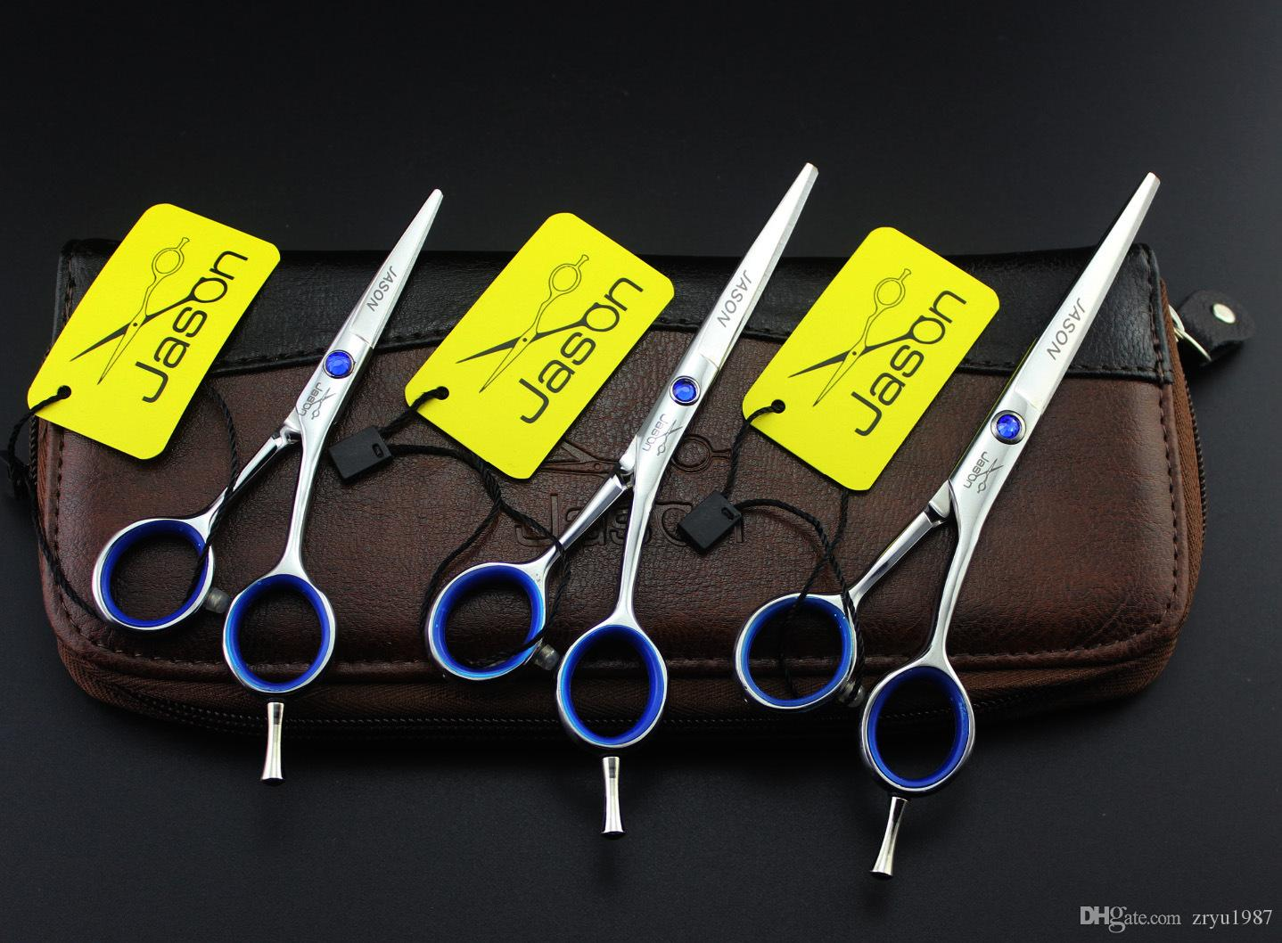 Hot sale Professional Hairdressing Scissors set high quality hair cutting scissor hair scissors tesouras 4inch 5 inch 5.5 inch