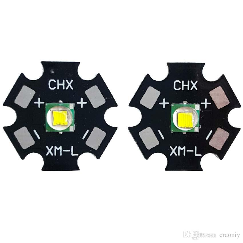 Electronic diy Parts CREE XMK XM-K LED 6000-7000K Cool white with 20mm aluminum base board can replace XML T6 U2 LED