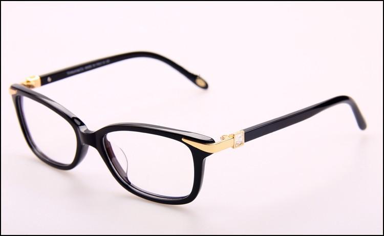 New eyeglasses frame TF2060 plank frame glasses frame restoring ancient ways oculos de grau men and women myopia eye glasses frames
