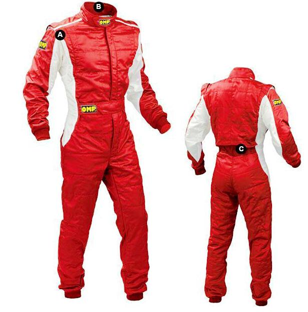 Wholesale- 2017new car racing clothing automobile car race practice service  one piece automobile race motorcycle 4color size XS-4XL