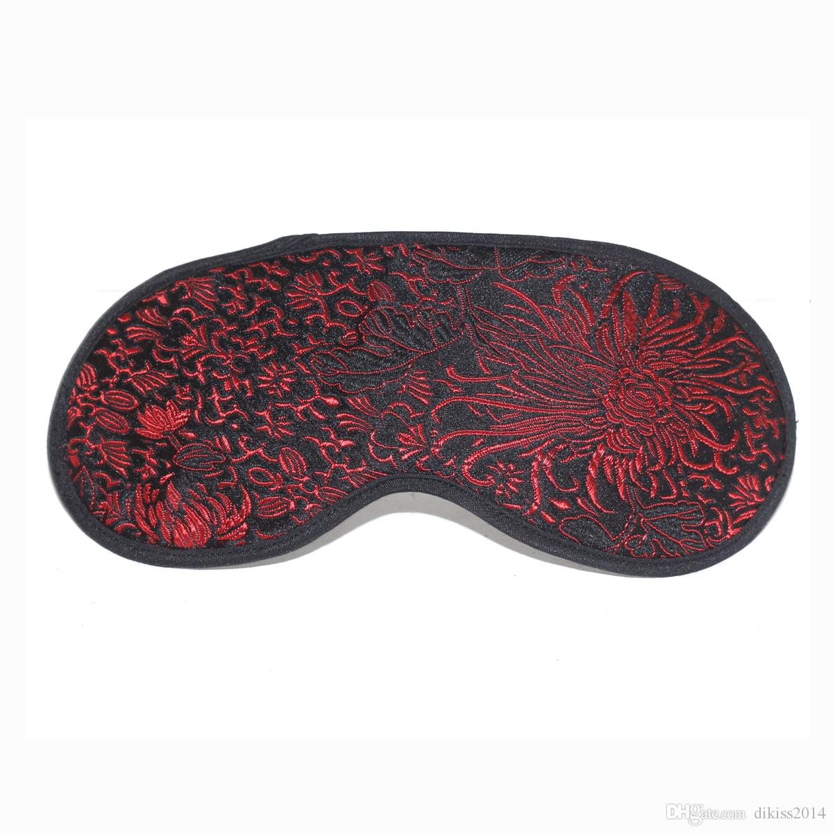 Adult Games Sex Toys for Couples Floral cloth Eye Mask Handcuffs Bondage Fetish Handcuffs Wrist Cuffs Adult Game Play Chain