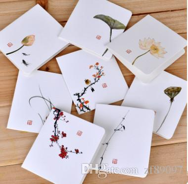 Christmas Gifts Paper Greeting Card Chinese Craft Greeting Card