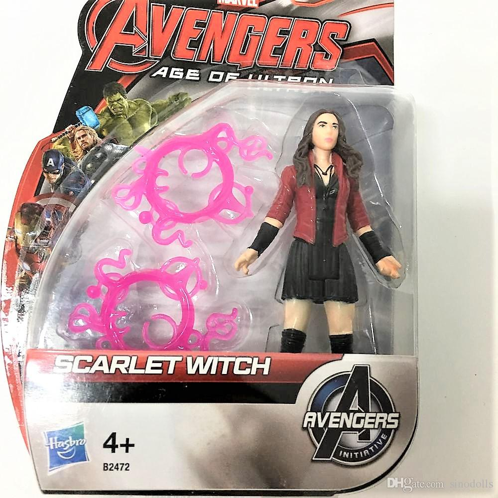 2018 Real For Hasbro Scarlet Witch 4+ B2472 For Marvel Avengers Age ...